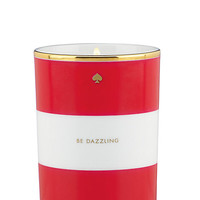 Kate Spade Be Dazzling Scented Candle Red/White ONE