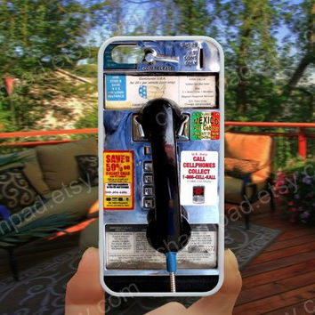 Pay phone Public phone iphone 4/4s case iphone 5/5s/5c case samsung galaxy s3/s4 case galaxy S5 case Waterproof gift case 478