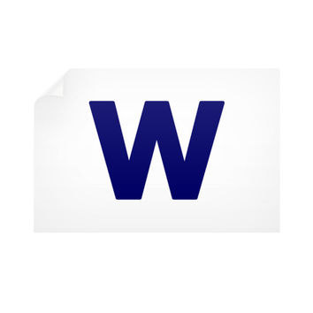 Cubs Win Flag Horizontal Wall Decals
