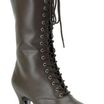 Pleaser Female Victorian Boots VIC120