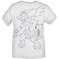 Pokemon Reshiram T-Shirt 2XL