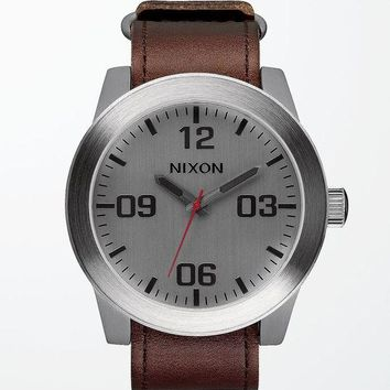 ONETOW Nixon Porter Leather Watch at PacSun.com