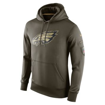 Nike Salute to Service KO Pullover (NFL Eagles) Men's Training Hoodie
