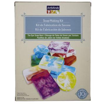 ArtMinds™ Soap-Making Kit, Tie-Dye Soap Bars