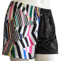 Sublimated Sportabella SHATTERED Loose Shorts - Sportabella, Ltd Store