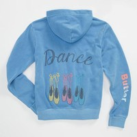 Butter Supersoft 'Ballet Slippers' Hoodie (Big Girls) | Nordstrom