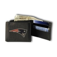 New England Patriots NFL Embroidered Billfold Wallet