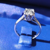 Have You Seen the Ring?: Tacori Engagement Ring with 1.01 Carat GIA Emerald Cut Diamond