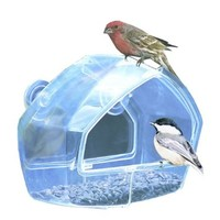 Birdscapes Clear Window Feeder 348 0097FR9E