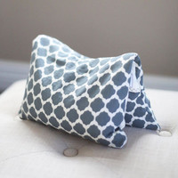 Gray and White Heating Pad - Corn Bags - Heat Packs - Boo Boo Pad - Gray Pattern Fabric - Neck Warmer - Neck Cooler - Therapy Pack