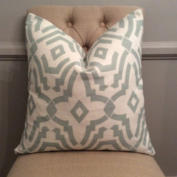 Handmade Decorative Pillow Cover - Premier Prints Chevelle Artichoke - Geometric