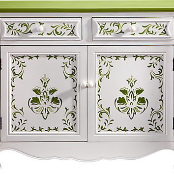 Paige Green Cabinet