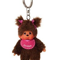 Monchhichi Keychain - 1970's and 1980's Classic Toys