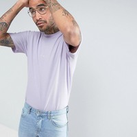 Puma Waffle Oversized T-Shirt In Purple Exclusive to ASOS at asos.com