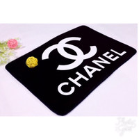 Chanel VIP logo area rug