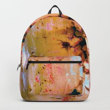Rusted Through Backpack by Heidi Haakenson