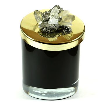 Fool's Gold Clusters Candle