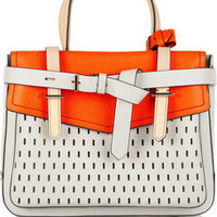Reed Krakoff|Boxer perforated leather tote|NET-A-PORTER.COM