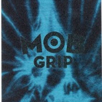 Mob Tie Dye Black/Blue 1 Sheet 9X33 Skate Grip