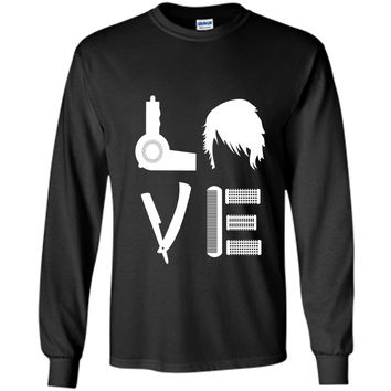 Love With Hairdressing Stuff - Hair Stylist T Shirt Gift