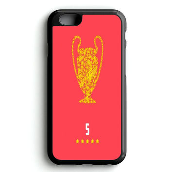 Liverpool Champions iPhone 4s iphone 5s iphone 5c iphone 6 Plus Case   iPod Touch 4 iPod Touch 5 Case