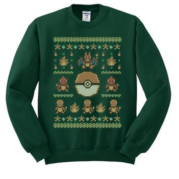 Pokemon Gotta Stitch Ugly Christmas Sweater sweatshirt unisex adults size S-2XL