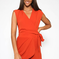 Pomeroy Playsuit - Rust