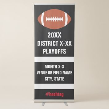Football Playoffs or Championship Game Banner