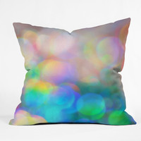Lisa Argyropoulos Color Me Happy Outdoor Throw Pillow