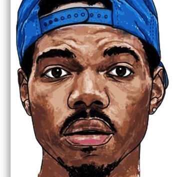 'Chance the Rapper' Canvas Print by theequal