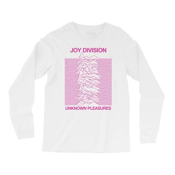 Joy Division Unknown Pleasures Long Sleeve Shirts