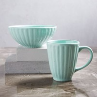 Everyday Mugs + Bowls - Mint