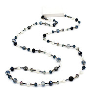 New 2017 Elegant Crystal Long Necklace For Women Tube Long Chain Stone Beads Necklaces Collar Statement Fashion Female Jewelry-in Chain Necklaces from Jewelry & Accessories on Aliexpress.com | Alibaba Group