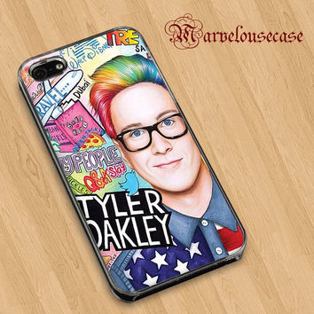 Tyler oakley collage art custom case for all phone case