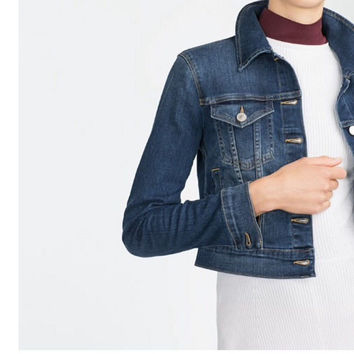 Winter Women's Fashion Denim Jacket [6514185095]