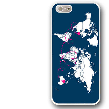 iPhone 5 Case, iPhone 5S Case, iphone 4 case, iphone 4s case - Long Distance Relationship #1 / Cover for iPhone 5S, Case for iPhone 4S