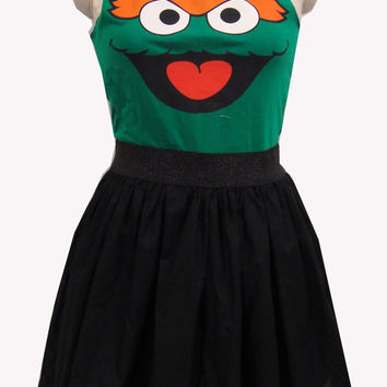 Oscar the Grouch Inspired Full Dress