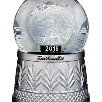 Waterford 2018 Times Square Snowglobe, 6