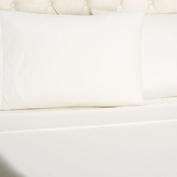 Frette, Luxe Percale Sateen Sheet Set, Ivory, Sheet Sets