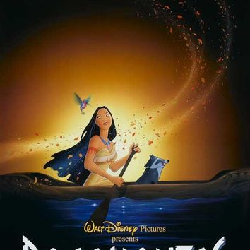Pocahontas (UK) 27x40 Movie Poster (1995)