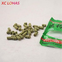 1 Bag Different Length Green Red Pink Carp Smell Lure Red Grass Carp Baits Fishing Baits Fishing Lures Free Shipping