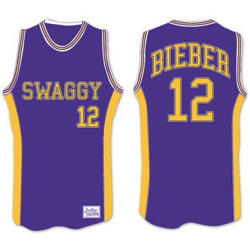 Justin Bieber Swag Basketball Jersey
