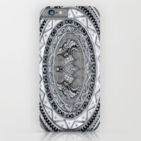 Bat Aztec pattern iPhone & iPod Case by Greenlight8