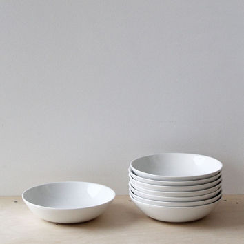Anna des Tombe & Ed Porter Wedding Registry | Father Rabbit | Ceramic Pasta Bowl | Rain Grey