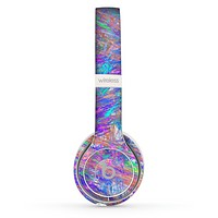 The Abstract Colorful Oil Paint Splatter Strokes Skin Set for the Beats by Dre Solo 2 Wireless Headphones