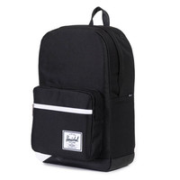 Herschel Supply Co.: Pop Quiz Backpack - Black / White Offset
