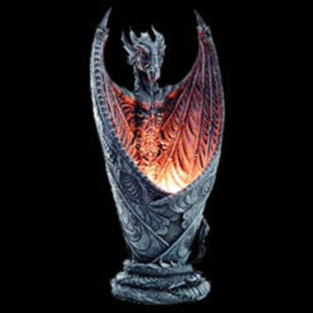 Dragon lamp 92967 by dark knight from - Guarding dragon accent table ...