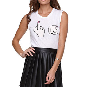 Riot Society F U Muscle Tee at PacSun.com