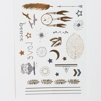 Mini Dream Catcher Temporary Tattoo