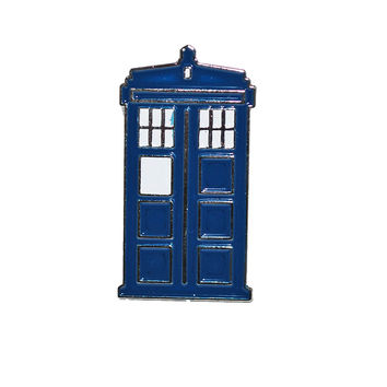 Dr Who Tardis Pin